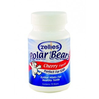 Zellies Cherry  Flavour Polar Bears (cnt 70)
