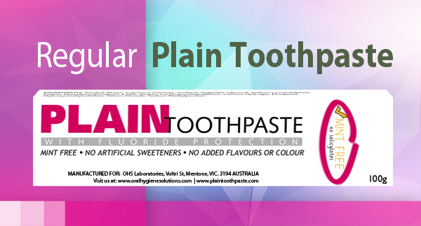 Plain Toothpaste Regular 100g
