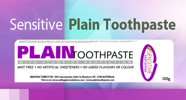 Plain Toothpaste Sensitive 100g